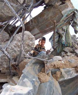 Démolition en Palestine
